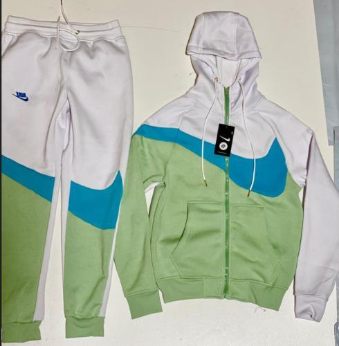Nike Swoosh Men's Fleece Zip Hoodie Shipping