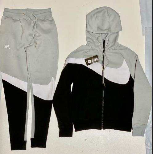 Zip Up Joggers Complete Set Free Shipping