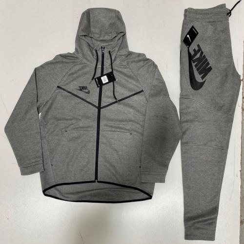 Nike Suit Top Bottom Complete Set Full-Zip Hoodie Brand