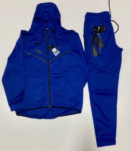 Nike Tech Suit Top Bottom Complete Set Full-Zip Brand
