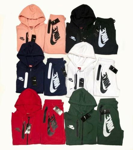 Nike Suit Full Zip Hoodie + Joggers Set