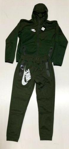 Nike Fleece Sweat Suit Joggers Tracksuit Brand Free Shipping