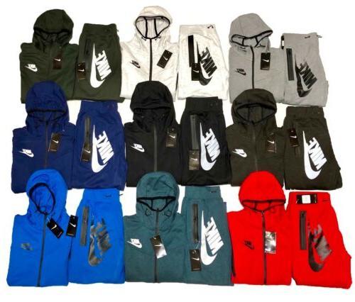 tech fleece sweat suit full zip hoodie