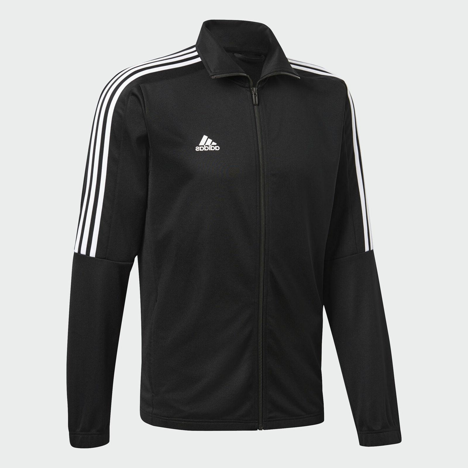 Adidas Tiro Track Suit Jacket White 3 Stripes Men's M