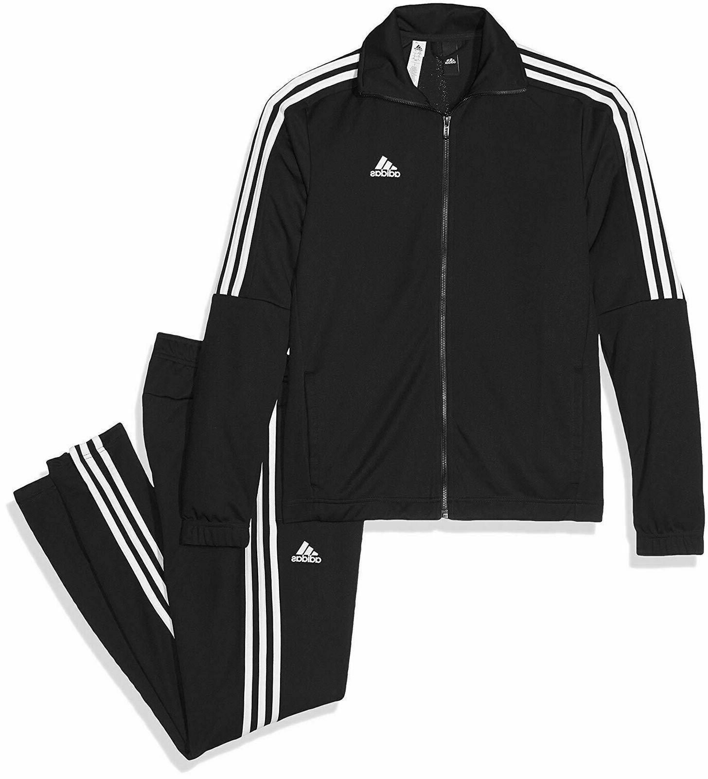 tiro track suit jacket top pants black
