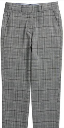 Tommy Hilfiger Tonal Plaid Pants Big Boys Size 16
