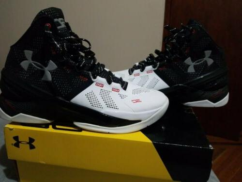 ua curry 2 suit and tie white