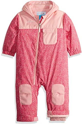 unisex baby infant hot tot suit rosewater