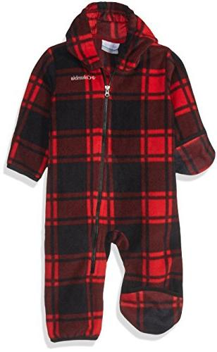 unisex baby infant snowtop ii bunting red