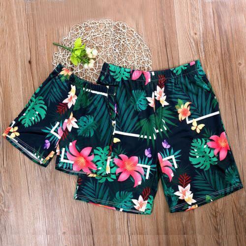US Men Vintga Floral Beachwear Bathing Suit