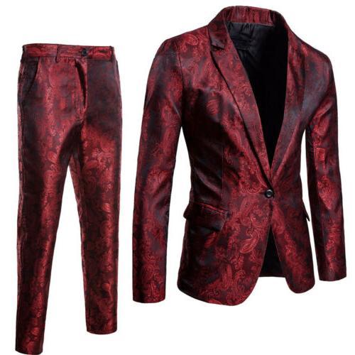Suit Tux Waistcoat Trousers Wedding Dress