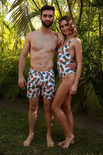 Couple Suit Bra Bikini Swimsuit swimming Lover Swimwear