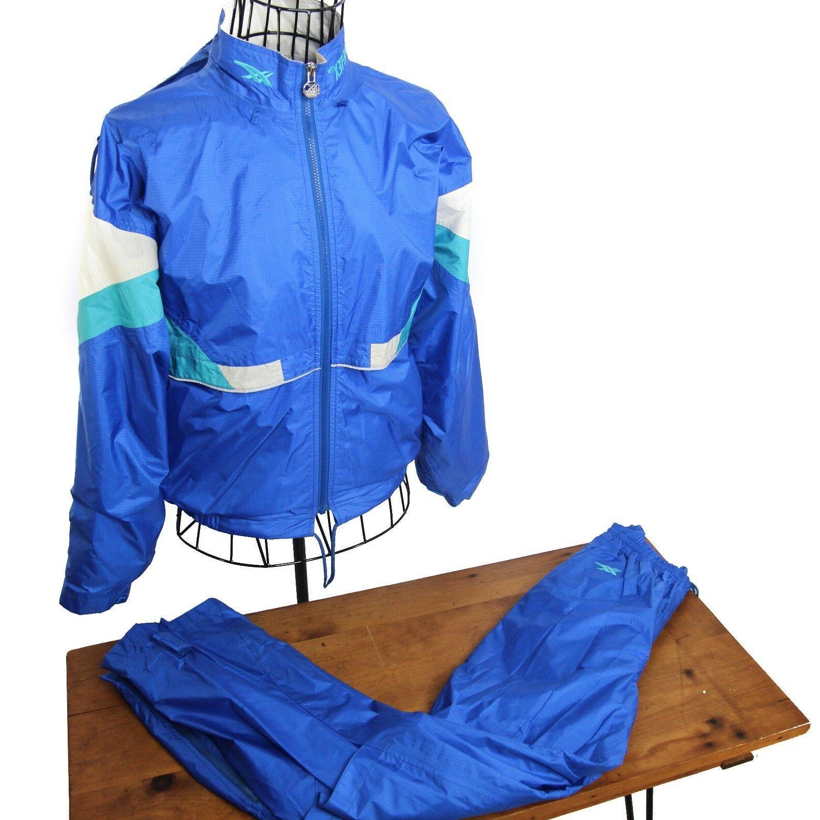Vintage Asics Gore-tex Lined Track Jogging Suit Mens Medium