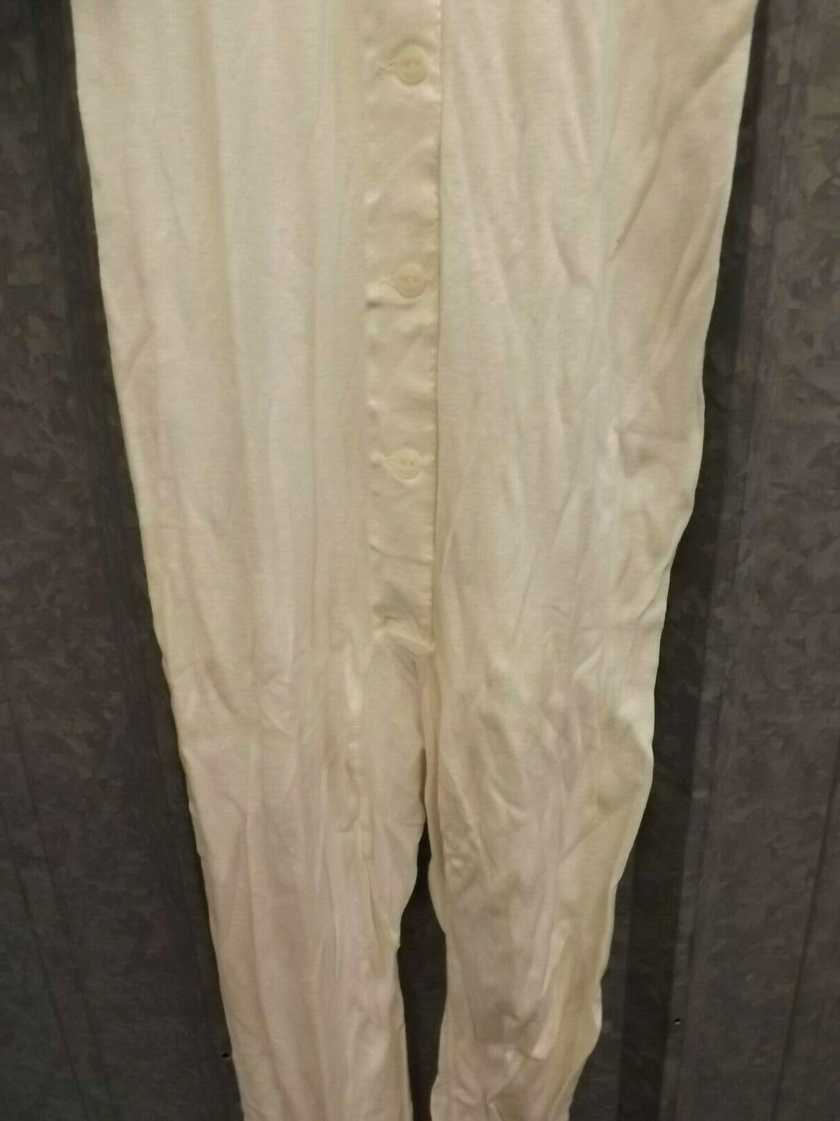 Hanes 1950s White Combed Cotton Short Sleeve Suit 36-62
