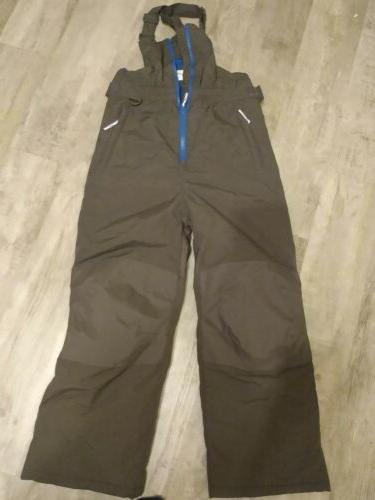 water resistant snow suit bib ski pants