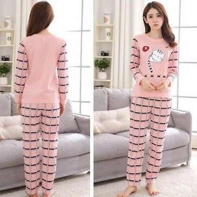 Women Sleeve Pajamas Printing Home