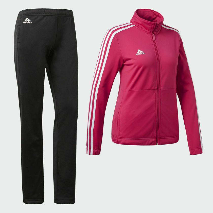 ADIDAS WOMEN'S BACK 2 BASICS 3 JACKET SET M,L
