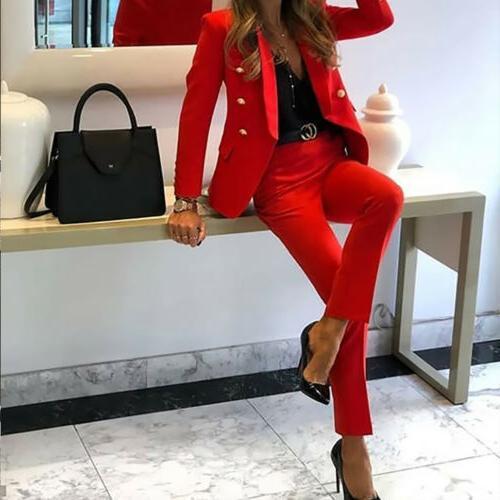 Women's Suits Office Formal Uniform OL 2 Set