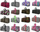 "Women's Fashion Print, 22"" Gym Bag Dance Cheer Travel Carry-"