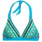 women s lahari halter top vivid blue