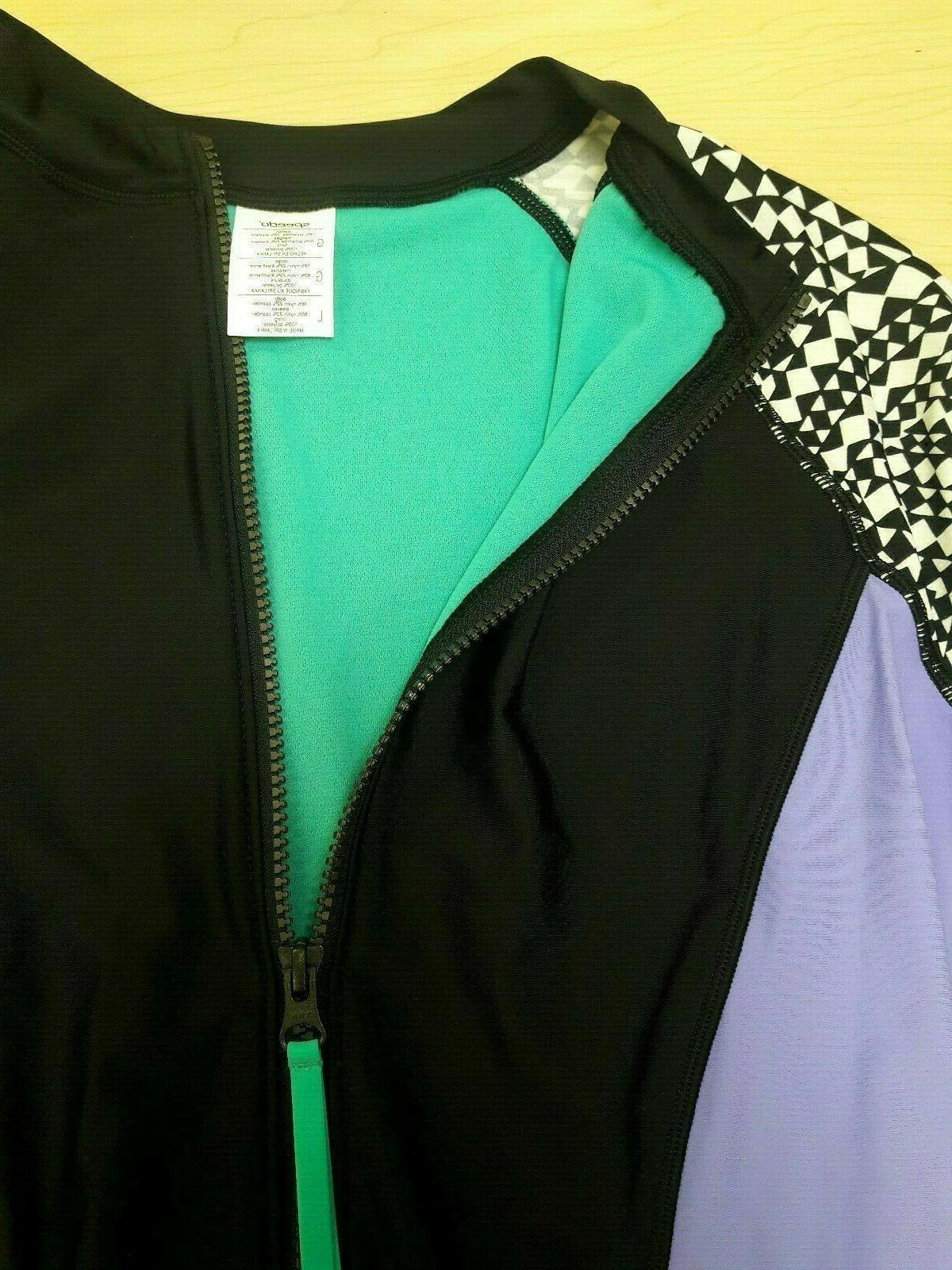 Speedo Suit, Purple