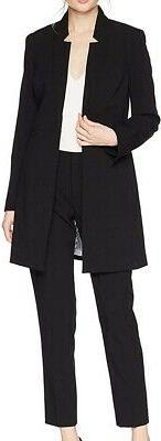 Tahari by ASL Women's Pant Suit Black 16 Longline Blazer Kis