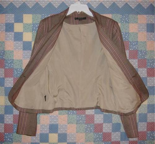 Women's View Suits Size 8 Colors 2 Blazer Jacket