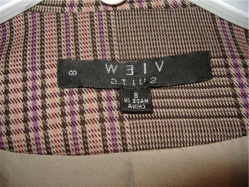 Women's 8 Colors 2 Piece Pants Blazer