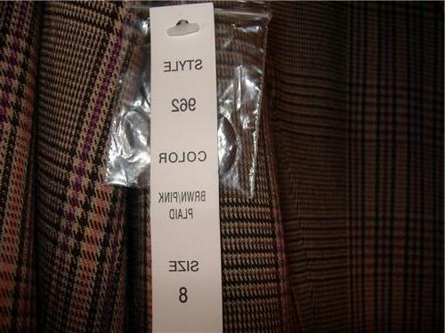 Women's View Suits Size 8 Business Wear Colors Piece Pants Blazer