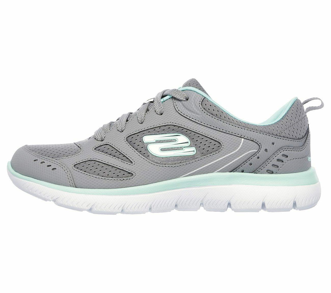 Women's Skechers Summits Gray Memory