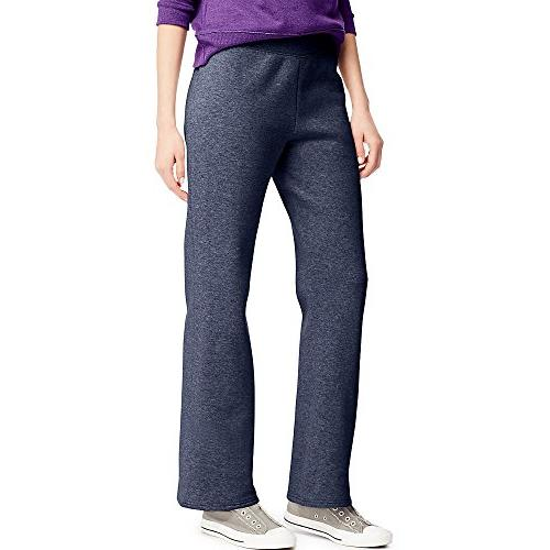 womens regular fleece sweatpant navy m