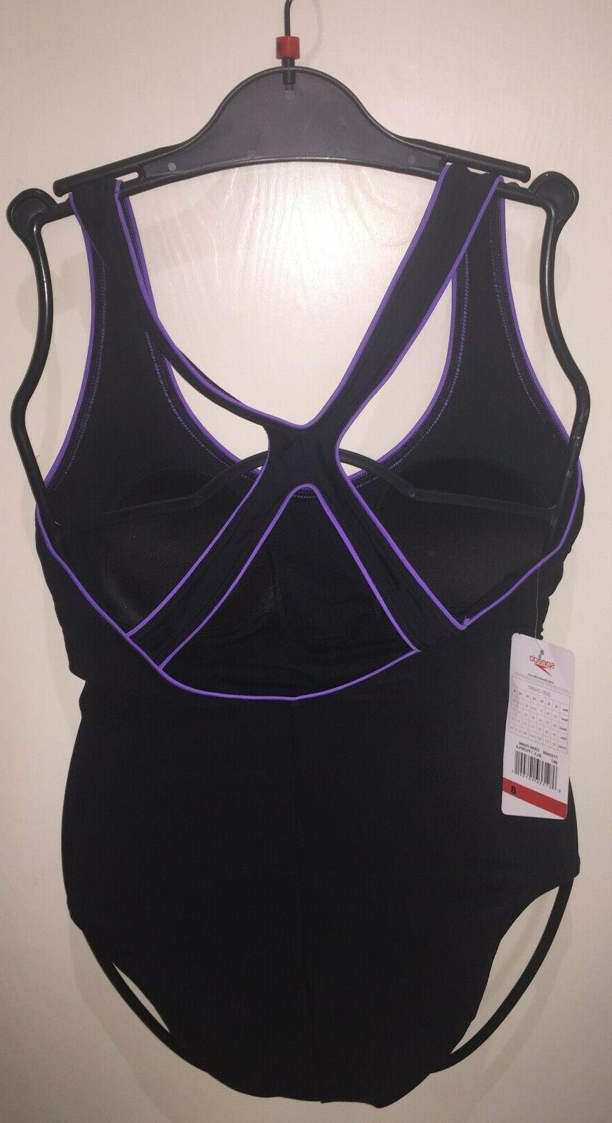 SPEEDO Womens Ultraback Bathing Purple | New tags
