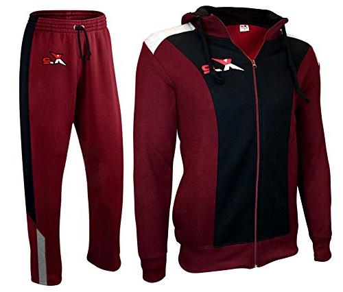 x 2 full zip fleece tracksuit jogging