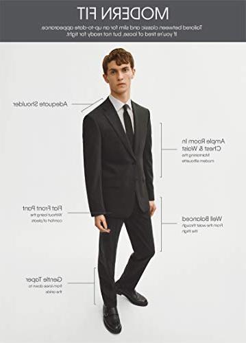 Calvin Klein Men's X Fit Slim Black 40 Regular