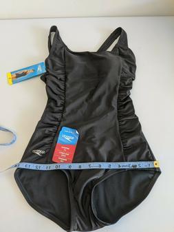 Speedo Ladies' Womens Swim Suit Speedo Black One Piece New W