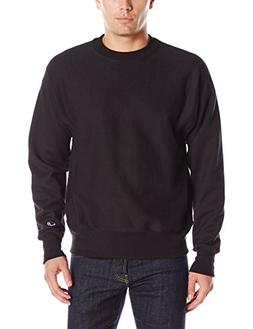 Champion LIFE Men's Reverse Weave Sweatshirt, Black, XL