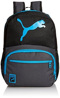 PUMA Little Boys' Backpacks and Lunch Boxes, Backpack Black/