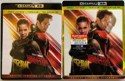 MARVEL ANT-MAN AND THE WASP 4K ULTRA HD BLU RAY 2 DISC RARE