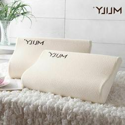 Memory Foam Pillow Slow Rebound Pressure Orthopedic Cervical