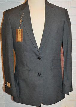 Men's Haggar 1926 Originals Gray Straight Fit Double Button