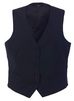 Gioberti Men's 5-Button Formal Suit Vest, Navy, X-Large