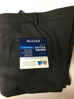 Haggar Men's Big & Tall Slacks / Suit Pants $75 OFF Size 54