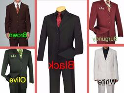 Men's Big & Tall Suit - Jacket & Pants  - Size 48 to 70 - HI