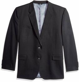 Haggar Men's Big and Tall Twill Stretch Classic Fit Suit Coa