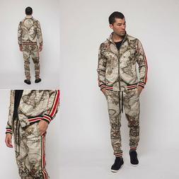Men's Conquer Jogging Track Suits Track Pants&Jacket Sweatsu