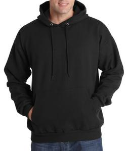men s ecosmart pullover fleece solid long