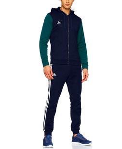 Adidas Men's Energize Track Suit 3 Stripes Hoodie Fleece Tra