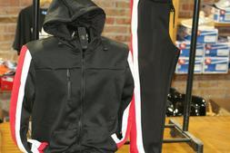 Men's Fashion Track Set Jogging Suit with Jacket & Pants Red