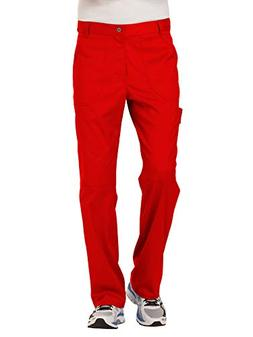 Cherokee Men's Fly Front Pant, Red, 3XL