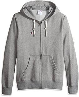 Champion LIFE Men's Full Zip Hoodie , Granite, 2X Large